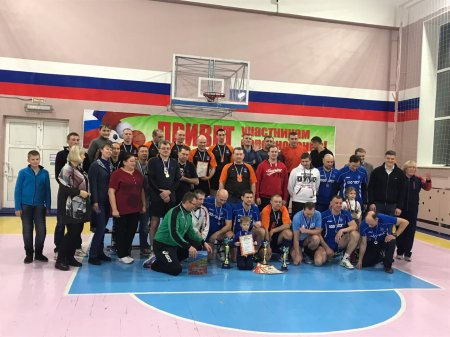 Открытый турнир Ольского городского округа по волейболу среди мужчин 40+