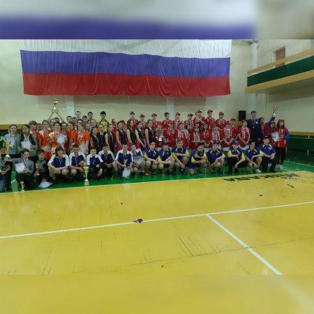 Всероссийский этап по волейболу среди детей в виде Спартакиады прошёл в п. Ягодное.